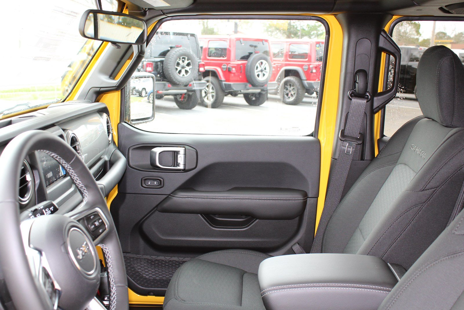 New 2019 Jeep Wrangler Unlimited Sahara Sport Utility In