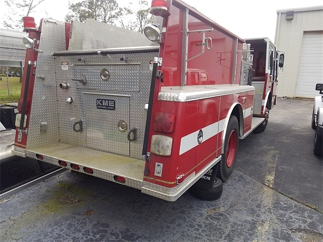 Pre-Owned 2000 KMA Kovatch Fire Truck